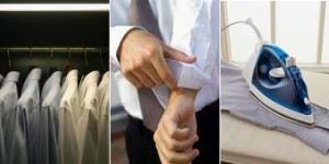 lavage et repassage des chemises